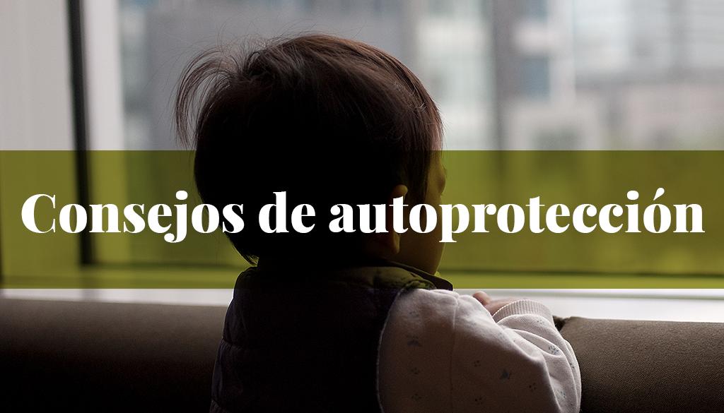 Consejos autoprotección